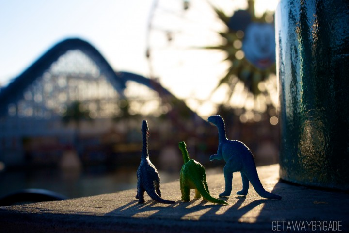 Dinos in Disneyland
